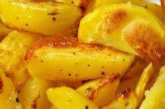 French fries potato slices Stock Photo