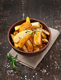 French fries potato wedges Stock Photography