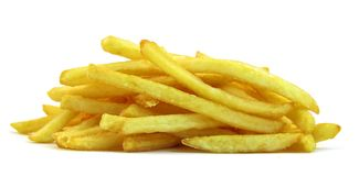 French fries potatoes royalty free stock photos