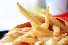 French fries potatoes Stock Images