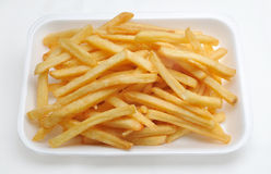 French fries potatoes Royalty Free Stock Photography