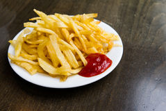 French fries potatoes Royalty Free Stock Photo