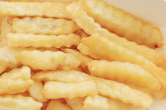 French fries potatoes background. Stock Images