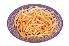 French fries potatoes ready to be eaten Royalty Free Stock Photo