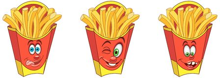 French Fries. Snack Food concept royalty free stock photo