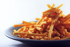 French fries. Tasty snacks of all ages Stock Photo