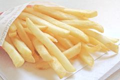 French Fries the ultimate Fast Food Meal Stock Photo