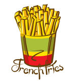 French Fries 01 Royalty Free Stock Photography