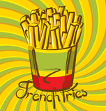 French Fries 01 Royalty Free Stock Image