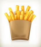 French fries vector icon Royalty Free Stock Image