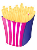 French Fries Vector Illustration Royalty Free Stock Image