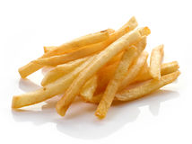 French fries on white background Stock Photos