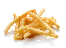 French fries on white background Stock Images