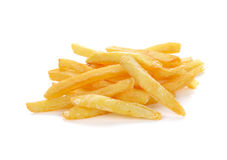 French fries on a white background Royalty Free Stock Photo