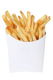 French fries in a white box Royalty Free Stock Images