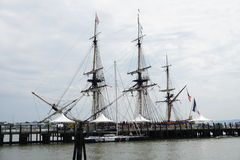 French Frigate Hermione 2014 16 Stock Photo