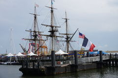 French Frigate Hermione 2014 1 Royalty Free Stock Photo