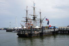 French Frigate Hermione 2014 4 stock photo