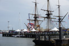 French Frigate Hermione 2014 6 stock photography
