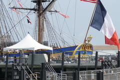 French Frigate Hermione 2014 7 Royalty Free Stock Image