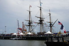 French Frigate Hermione 2014 9 Royalty Free Stock Image