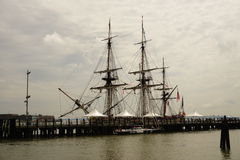 French Frigate Hermione 2014 11 Stock Image
