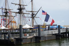 French Frigate Hermione 2014 13 Stock Photo