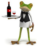 French frog Stock Photography