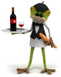French frog Royalty Free Stock Photo