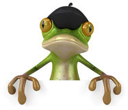 French frog Stock Photo