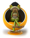 French frog Royalty Free Stock Photos