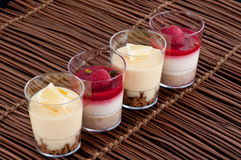 French fruit desserts Stock Image