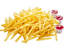 French Fry Heap Royalty Free Stock Images