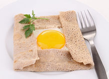 French galette Royalty Free Stock Image