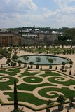 French garden  Royalty Free Stock Photo
