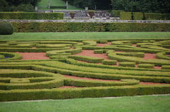 French garden Royalty Free Stock Image