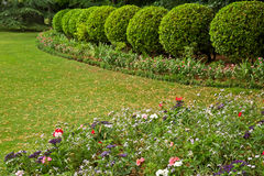 French Garden Royalty Free Stock Images
