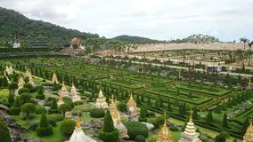 French garden in pattaya Royalty Free Stock Image
