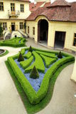 French gardens in Prague Stock Photo