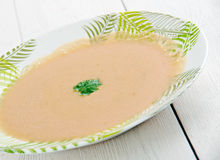 French garlic soup Stock Images