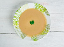 French garlic soup Royalty Free Stock Photography
