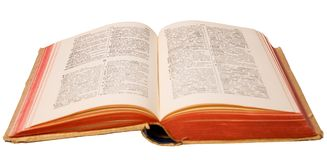 French german dictionary Stock Photography