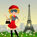 French girl Stock Photos