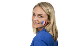 French Girl Stock Photo