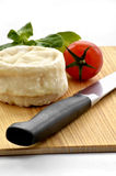 French goats cheese Stock Photography