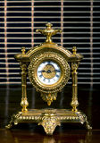 French Gold Clock. Stock Photos
