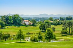 French golf course. Stock Photography