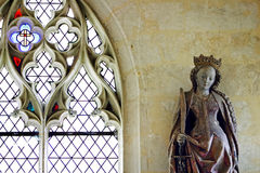 French gothic interior detail Royalty Free Stock Image