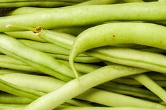 French Green Beans, Haricots Verts Stock Images