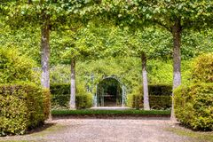 French green garden Stock Image
